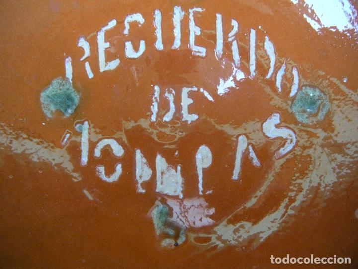 Antigüedades: CERÁMICA POPULAR. LEBRILLO LA BISBAL, RECUERDO - Foto 5 - 167623672