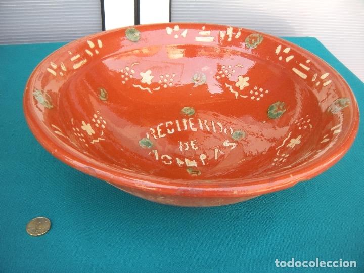 Antigüedades: CERÁMICA POPULAR. LEBRILLO LA BISBAL, RECUERDO - Foto 6 - 167623672