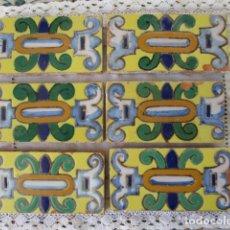 Antigüedades: AZULEJOS CENEFAS RAMOS REJANO . Lote 167634200