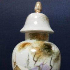 Antigüedades: TIBOR DE MANOLO TOS.PINTADO A MANO.. Lote 167636196