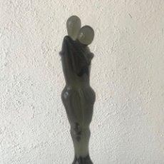 Antigüedades: GRAN ESCULTURA DE CRISTAL DE MURANO - PAREJA 1960'S. GLASS SCULPTURE. . Lote 167639444