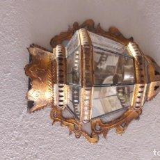 Antigüedades: PAREJA DE FAROLES ANTIGUOS . Lote 167648860