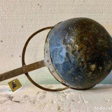 Antigüedades: CALDERO DE LATON CON MANGO. Lote 167660676