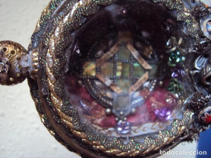 Antigüedades: (ANT-190601)ANTIGUO RELICARIO.S.GALDINO.S.GIORGIO.S.TRISELMO Y S.CASIMIRO - CRISTAL - Foto 2 - 167670032