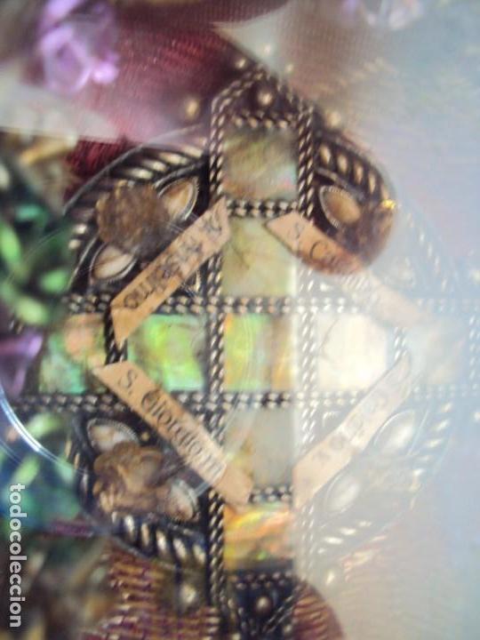 Antigüedades: (ANT-190601)ANTIGUO RELICARIO.S.GALDINO.S.GIORGIO.S.TRISELMO Y S.CASIMIRO - CRISTAL - Foto 9 - 167670032