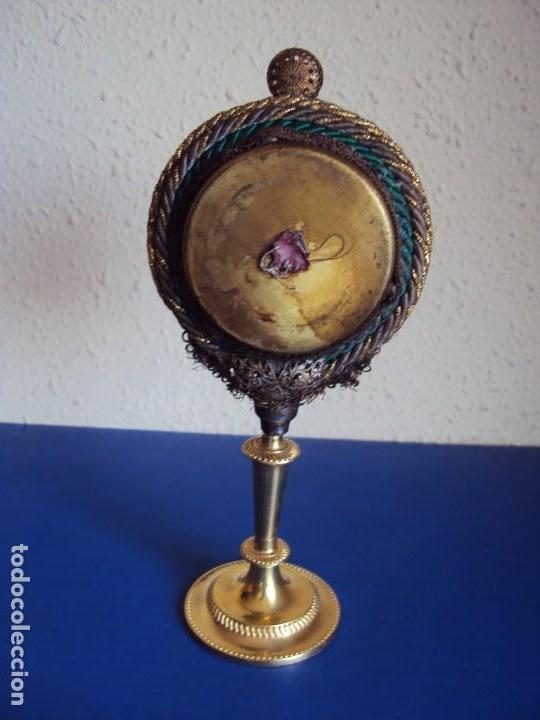 Antigüedades: (ANT-190601)ANTIGUO RELICARIO.S.GALDINO.S.GIORGIO.S.TRISELMO Y S.CASIMIRO - CRISTAL - Foto 13 - 167670032