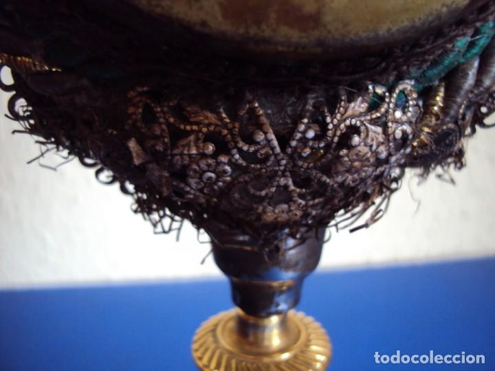 Antigüedades: (ANT-190601)ANTIGUO RELICARIO.S.GALDINO.S.GIORGIO.S.TRISELMO Y S.CASIMIRO - CRISTAL - Foto 15 - 167670032