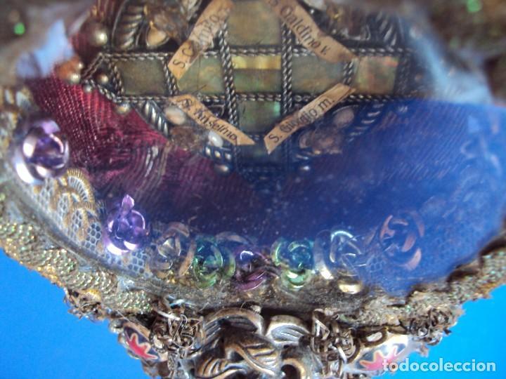 Antigüedades: (ANT-190601)ANTIGUO RELICARIO.S.GALDINO.S.GIORGIO.S.TRISELMO Y S.CASIMIRO - CRISTAL - Foto 19 - 167670032