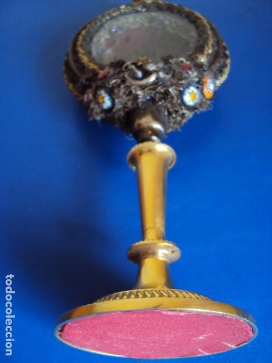 Antigüedades: (ANT-190601)ANTIGUO RELICARIO.S.GALDINO.S.GIORGIO.S.TRISELMO Y S.CASIMIRO - CRISTAL - Foto 20 - 167670032