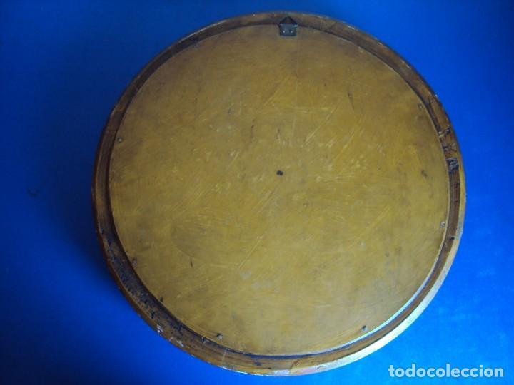 Antigüedades: (ANT-190610)ANTIGUO RELICARIO DE SAN FRANCISCO DE PAULA - MARCO Y CRISTAL - Foto 16 - 167670552