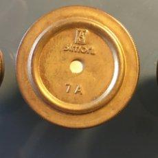 Antigüedades: LOTE 3 FUSIBLES MARCA SIMON Y BJC. Lote 167673036