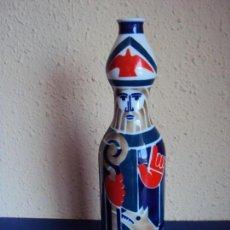 Antigüedades: (CE-190615)BOTELLA SAN FROILÁN PORCELANA CASTRO SARGADELOS CON POESÍA LUGO LORENZO VARELA. Lote 167673280