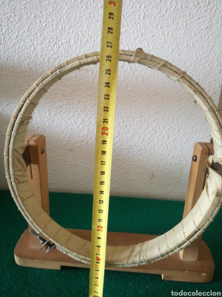 Antigüedades: BASTIDOR PARA COSTURA - Foto 9 - 167689437