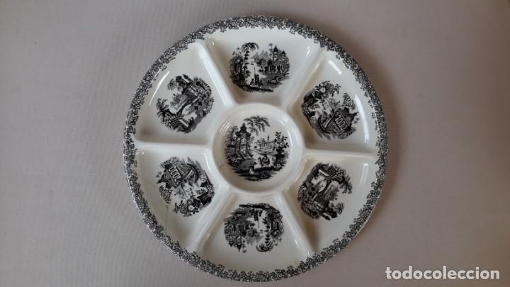 FUENTE APERITIVOS (Antigüedades - Porcelanas y Cerámicas - La Cartuja Pickman)