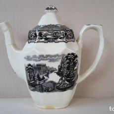 Antigüedades: CAFETERA OCHAVADA. Lote 167692976