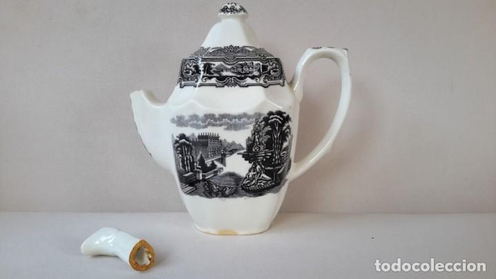 Antigüedades: Cafetera ochavada - Foto 2 - 167692976