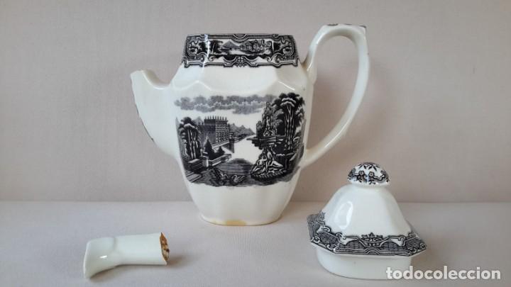 Antigüedades: Cafetera ochavada - Foto 5 - 167692976