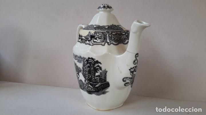 Antigüedades: Cafetera ochavada - Foto 9 - 167692976