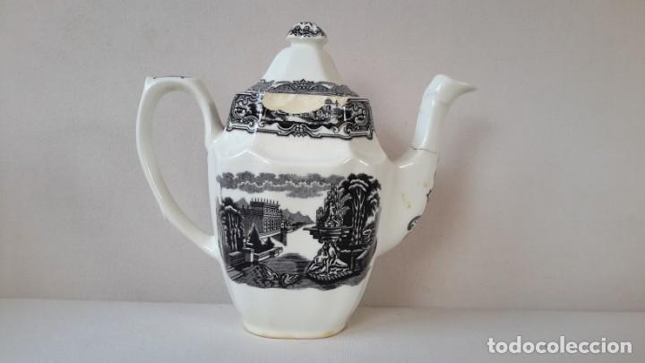 Antigüedades: Cafetera ochavada - Foto 10 - 167692976