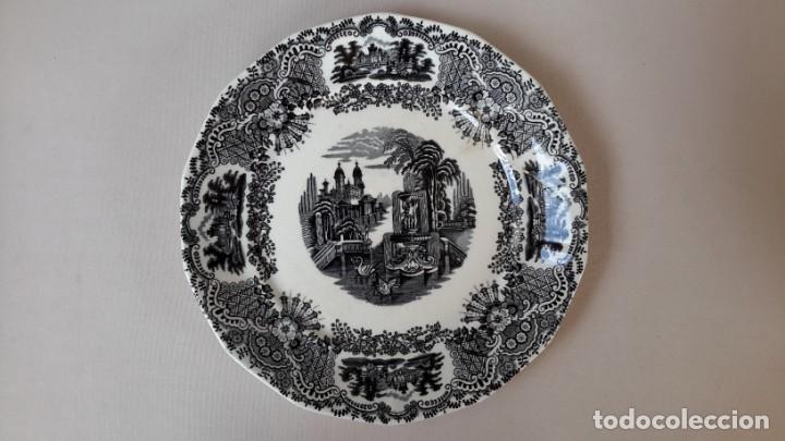 PLATO LA CARTUJA DE SEVILLA PICKMAN (Antigüedades - Porcelanas y Cerámicas - La Cartuja Pickman)
