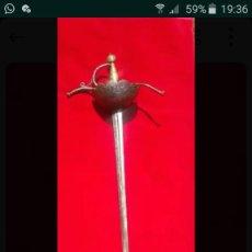 Antigüedades: ESPADA ROPERA DE CONCHA. Lote 167736180