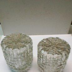 Antigüedades: PAREJA DE TULIPAS. Lote 167741145