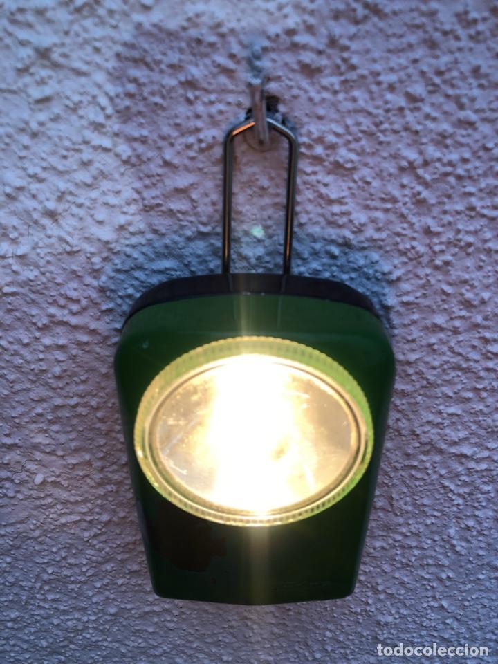 LINTERNA ANTIGUA TUDOR, DE PETACA. (Antigüedades - Iluminación - Otros)