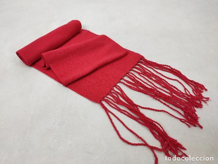 Antigüedades: Faja roja de algodón - Foto 2 - 167772568