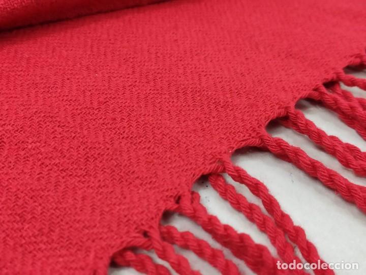 Antigüedades: Faja roja de algodón - Foto 5 - 167772568