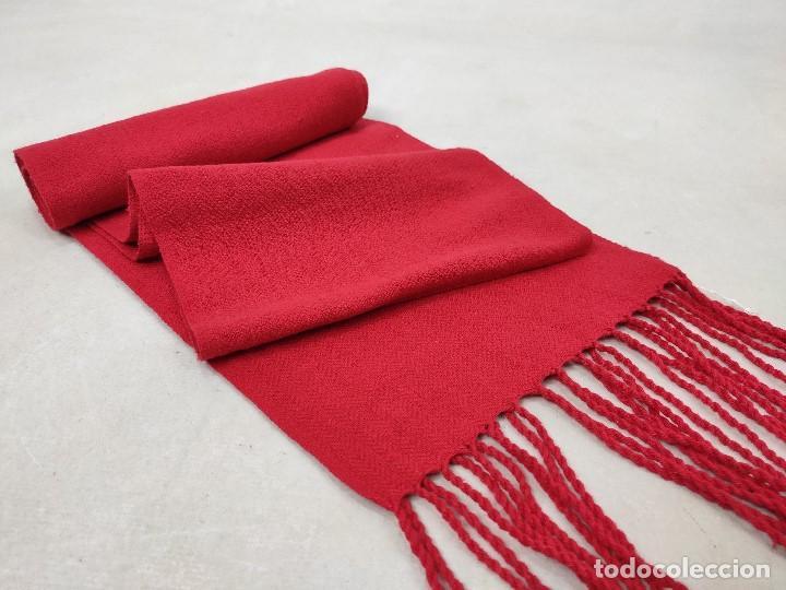 Antigüedades: Faja roja de algodón - Foto 6 - 167772568