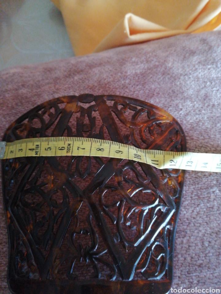 Antigüedades: Peineta calada a mano años 30 - Foto 5 - 167783549