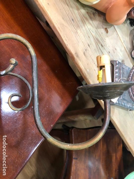 Antigüedades: PAREJA DE APLIQUES HOLANDESA - MEDIDA 37X45 CM - Foto 6 - 167785248