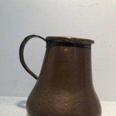 Antigüedades: JARRA DE VINO DE COBRE CATALAN ANTIGUO, SIGLO XIX.. Lote 167791896