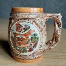 Antigüedades: JARRA DE CERVEZA DE TENERIFE. Lote 167810768