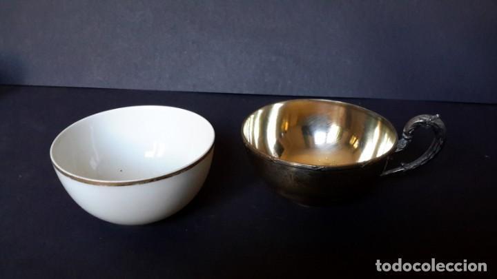 Antigüedades: Excepcional juego de tazas de café - Foto 6 - 167810956