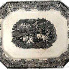 Antigüedades: GRAN FUENTE DE CARTAGENA - S. XIX. Lote 167831808