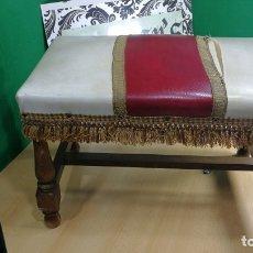 Antigüedades: ESPECIE DE TABURETE CALZADOR ANTIGUO, MUY BOTITO. Lote 167840016