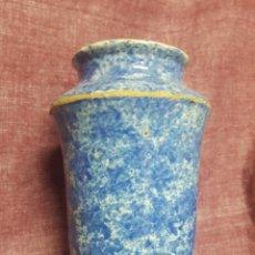 Antigüedades: GRAN ALBARELO DE CERÁMICA DE TALAVERA. Lote 167866349