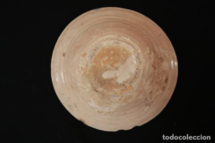 Antigüedades: Cerámica popular vasca. Siglos XVIII - XIX. Exclusiva pieza por su singularidad. - Foto 8 - 167879964