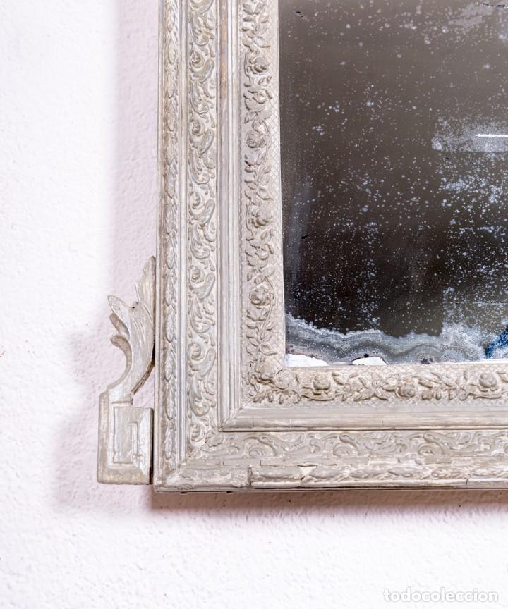 Antigüedades: Espejo Antiguo Restaurado Clovis - Foto 3 - 167934732