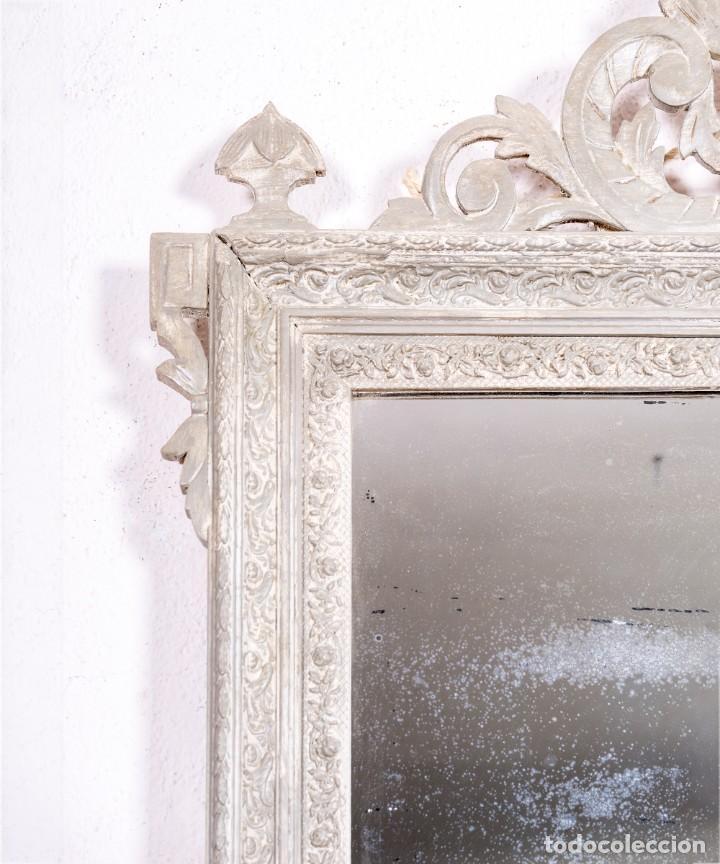 Antigüedades: Espejo Antiguo Restaurado Clovis - Foto 2 - 167934732