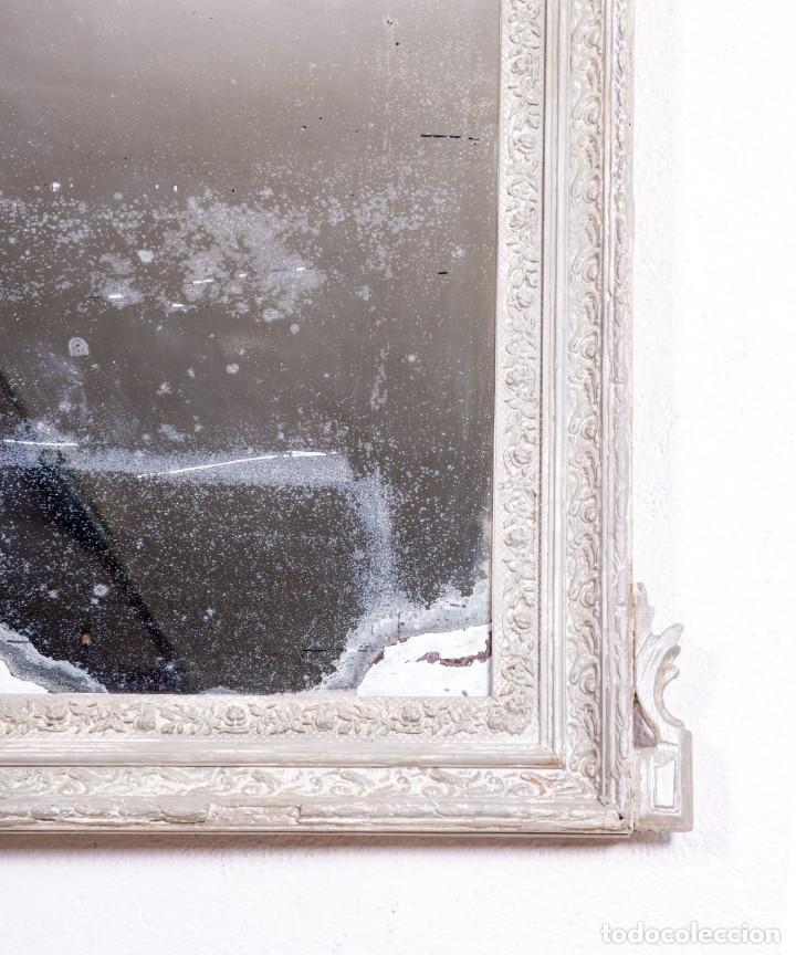 Antigüedades: Espejo Antiguo Restaurado Clovis - Foto 4 - 167934732