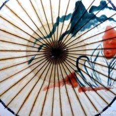 Oggetti Antichi: SOMBRILLA JAPONESA PINTADA A MANO. Lote 167940676