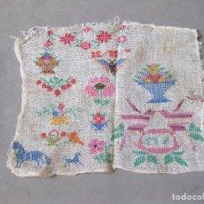 Antigüedades: BORDADO PUNTO DE CRUZ DE LOS AÑOS 30. Lote 167942380