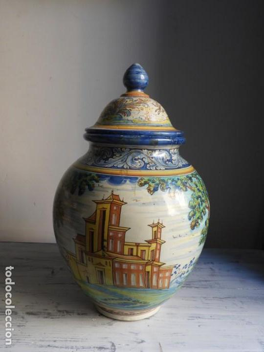 Antigüedades: TIBOR DE CERAMICA DE TALAVERA RUIZ DE LUNA - Foto 15 - 167954276