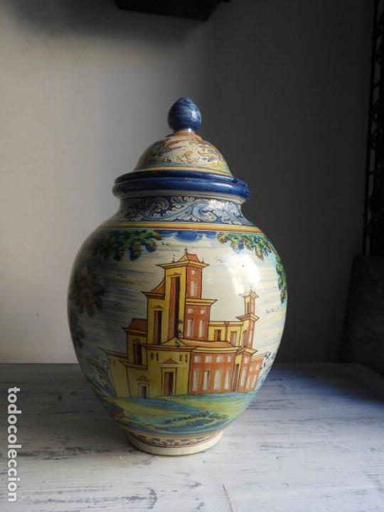 Antigüedades: TIBOR DE CERAMICA DE TALAVERA RUIZ DE LUNA - Foto 2 - 167954276
