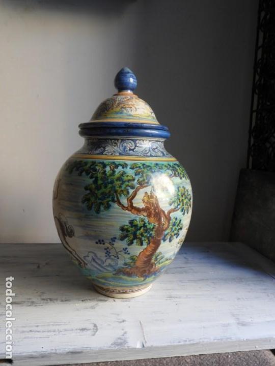Antigüedades: TIBOR DE CERAMICA DE TALAVERA RUIZ DE LUNA - Foto 3 - 167954276
