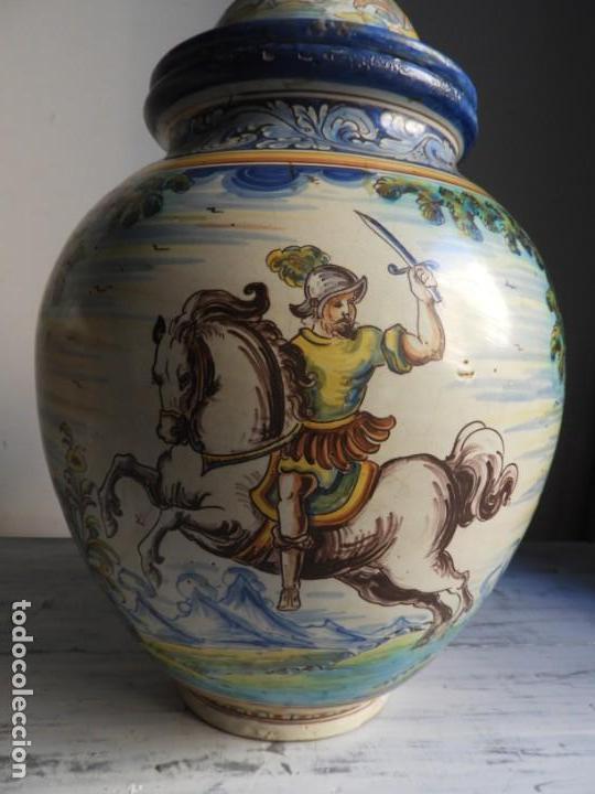 Antigüedades: TIBOR DE CERAMICA DE TALAVERA RUIZ DE LUNA - Foto 5 - 167954276