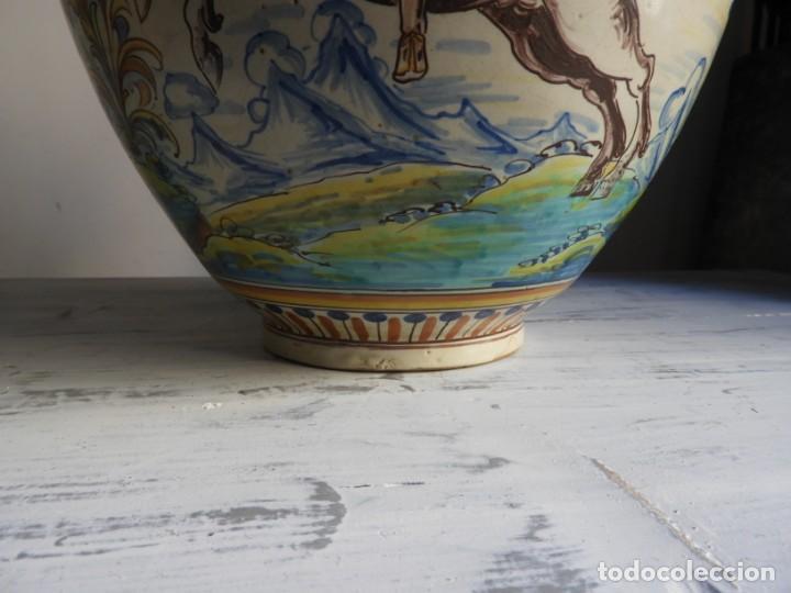 Antigüedades: TIBOR DE CERAMICA DE TALAVERA RUIZ DE LUNA - Foto 6 - 167954276