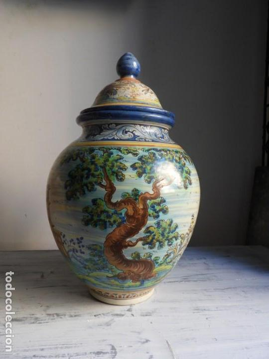 Antigüedades: TIBOR DE CERAMICA DE TALAVERA RUIZ DE LUNA - Foto 7 - 167954276